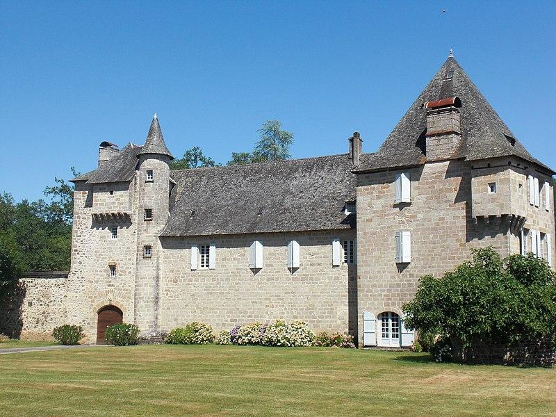 Photo du Monument Historique Château d'Estresse situé à Astaillac