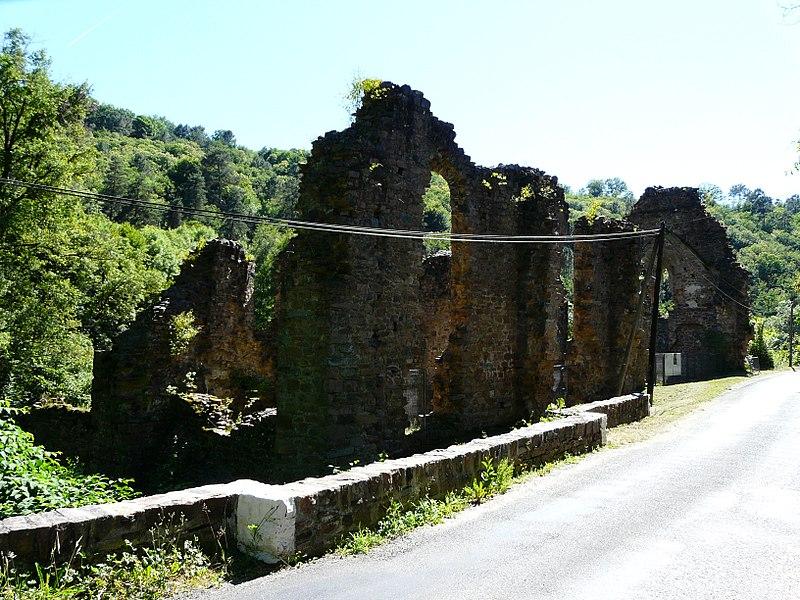 Photo du Monument Historique Ancien monastère du Coyroux situé à Aubazines
