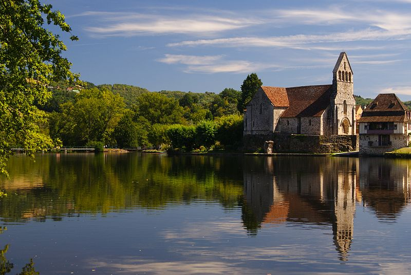 Photo du Monument Historique Eglise Notre-Dame ou des Pénitents situé à Beaulieu-sur-Dordogne
