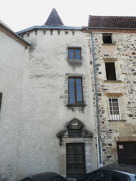Photo du Monument Historique Maison Rigal situé à Beaulieu-sur-Dordogne