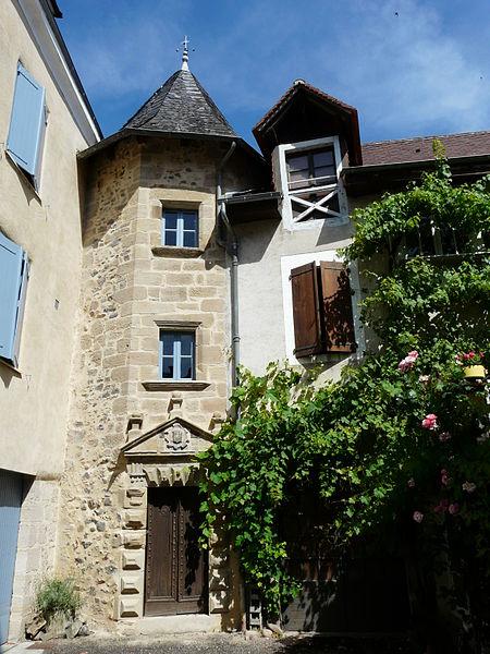 Photo du Monument Historique Maison Clare situé à Beaulieu-sur-Dordogne