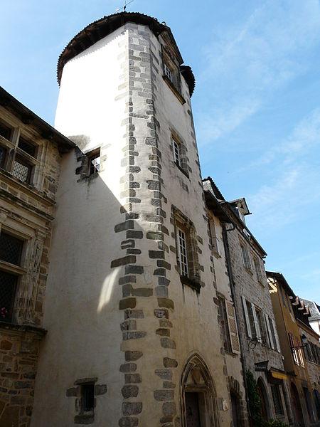 Photo du Monument Historique Maison Calary situé à Beaulieu-sur-Dordogne