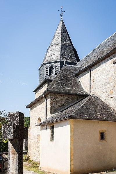 Photo du Monument Historique Eglise Saint-Martin situé à Billac