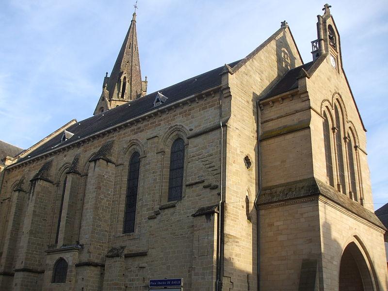 Photo du Monument Historique Eglise Saint-Martin situé à Brive-la-Gaillarde