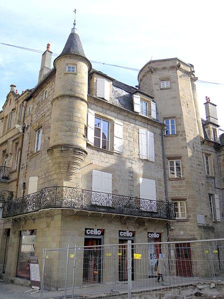 Photo du Monument Historique Maison du 15e siècle situé à Brive-la-Gaillarde