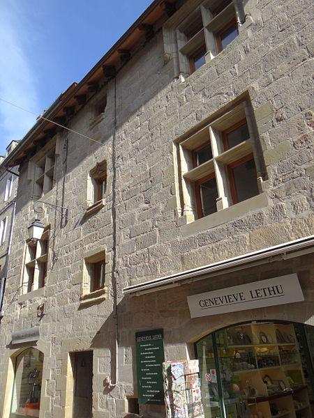 Photo du Monument Historique Maison situé à Brive-la-Gaillarde