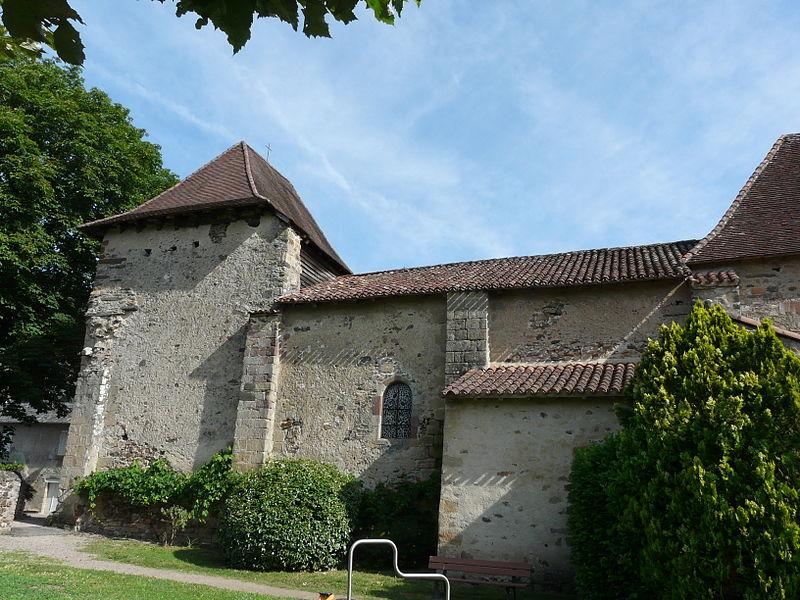 Photo du Monument Historique Eglise Saint-Pierre situé à Brivezac