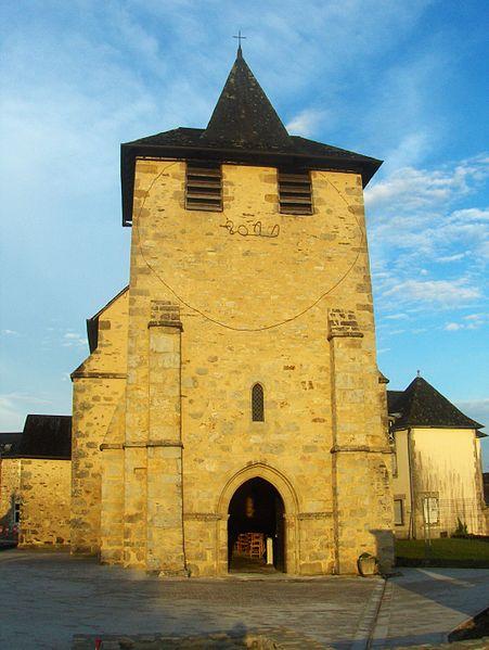 Photo du Monument Historique Eglise Saint-Etienne situé à Chameyrat