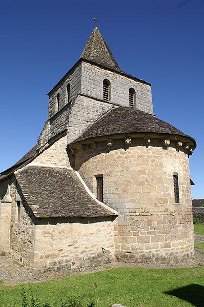 Photo du Monument Historique Eglise Saint-Géraud situé à La Chapelle-Saint-Géraud