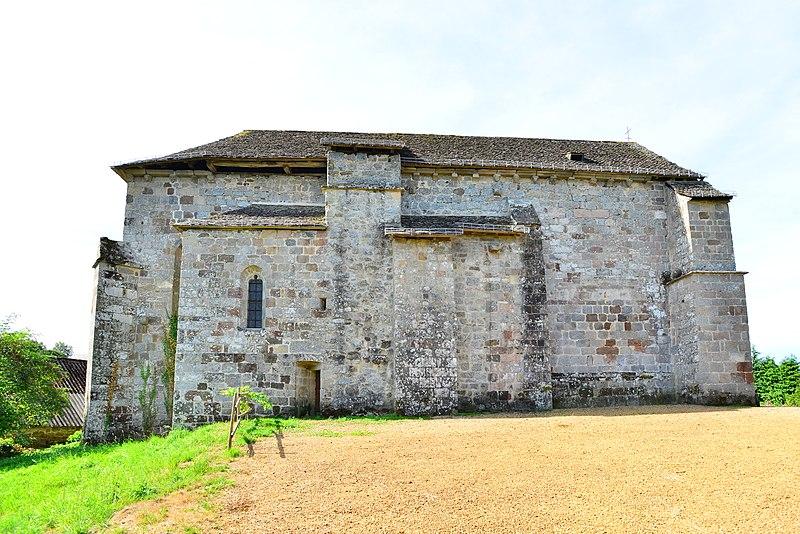Photo du Monument Historique Eglise Notre-Dame situé à Chapelle-Spinasse