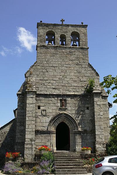 Photo du Monument Historique Eglise Notre-Dame situé à Clergoux