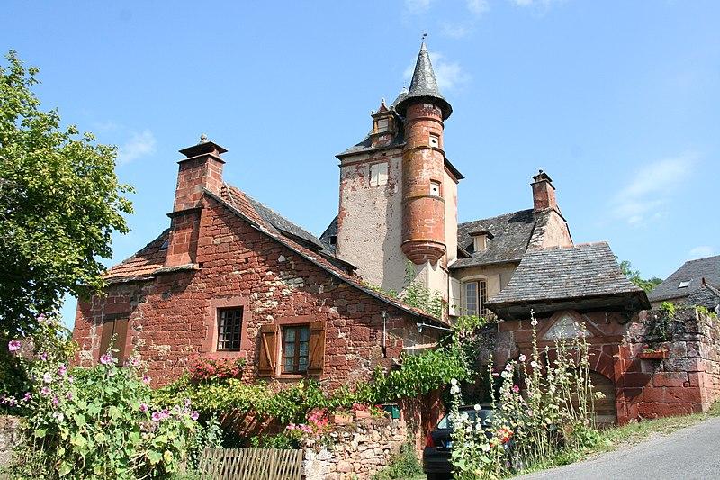 Photo du Monument Historique Château Maussac situé à Collonges-la-Rouge