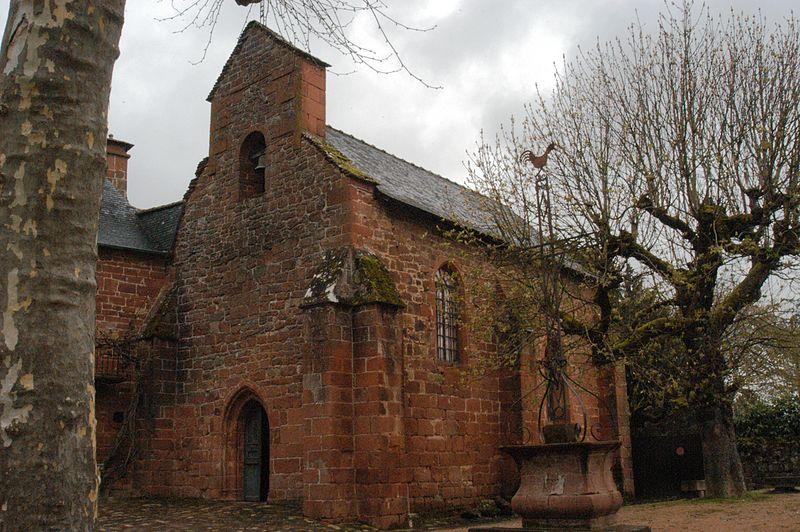 Photo du Monument Historique Croix de la Passion situé à Collonges-la-Rouge