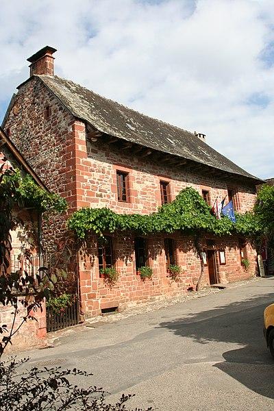 Photo du Monument Historique Ancienne mairie situé à Collonges-la-Rouge