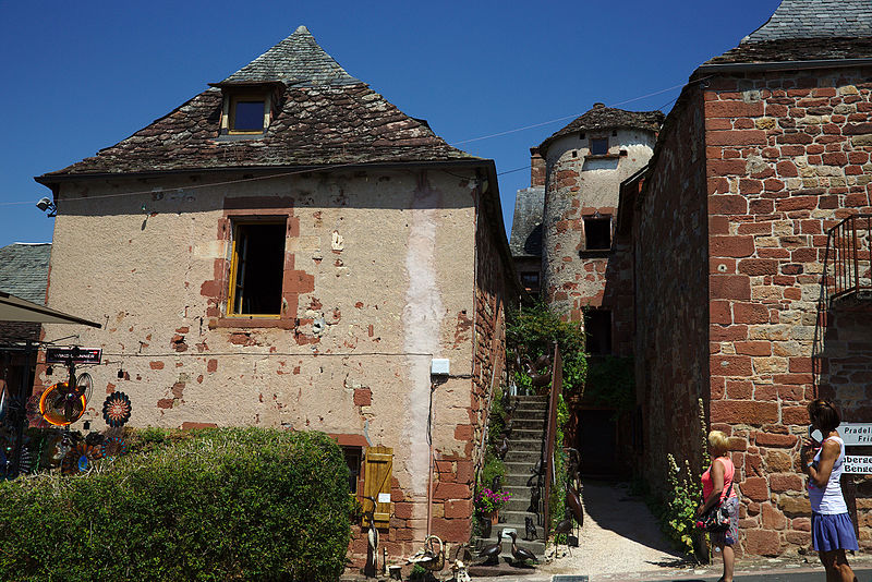 Photo du Monument Historique Maison Bonyt situé à Collonges-la-Rouge