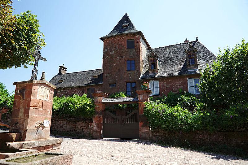 Photo du Monument Historique Maison Dey situé à Collonges-la-Rouge