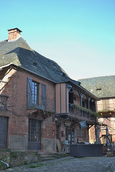 Photo du Monument Historique Maison situé à Collonges-la-Rouge