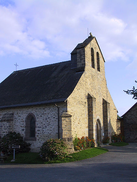 Photo du Monument Historique Eglise Saint-Julien de Brioude situé à Concèze