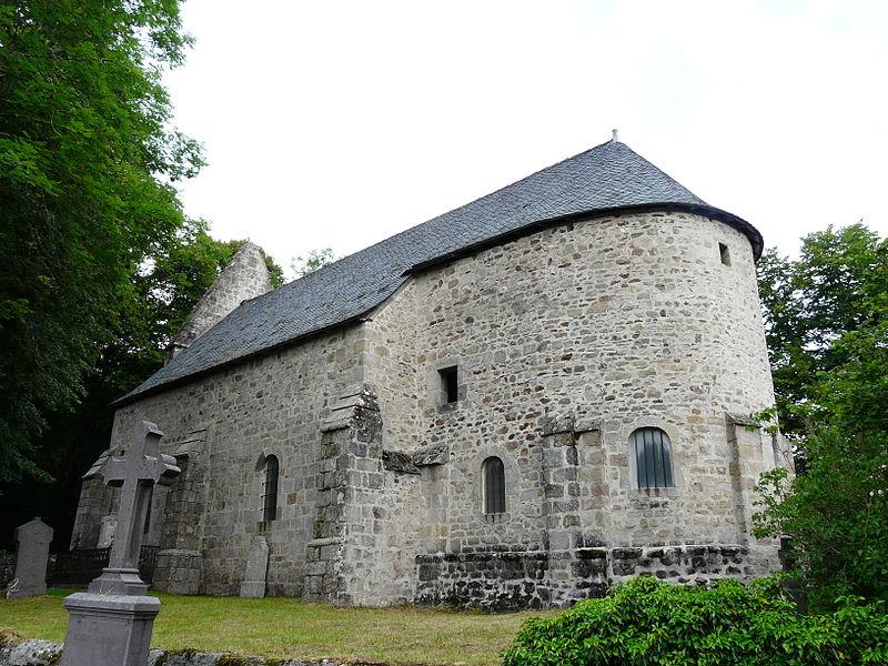 Photo du Monument Historique Ancien prieuré de Port-Dieu situé à Confolent-Port-Dieu