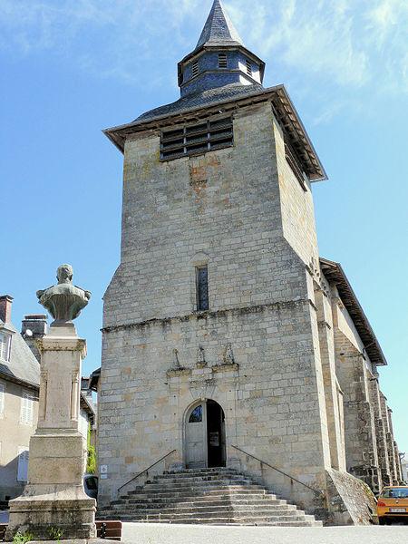 Photo du Monument Historique Eglise Saint-Martial situé à Corrèze