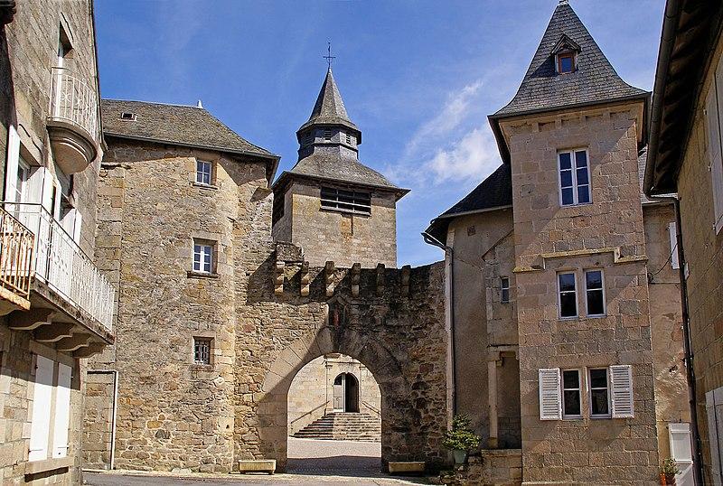 Photo du Monument Historique Porte de ville situé à Corrèze