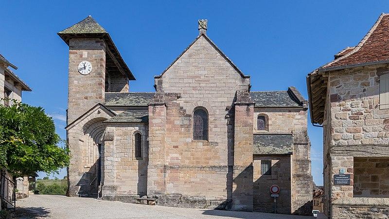 Photo du Monument Historique Eglise Saint-Barthélémy situé à Curemonte