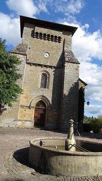 Photo du Monument Historique Eglise Saint-Pardoux situé à Dampniat