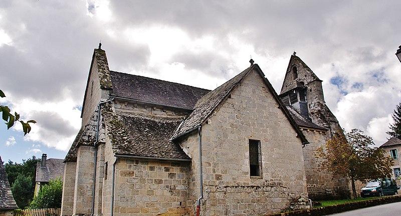 Photo du Monument Historique Eglise Saint-Pierre situé à Eyrein