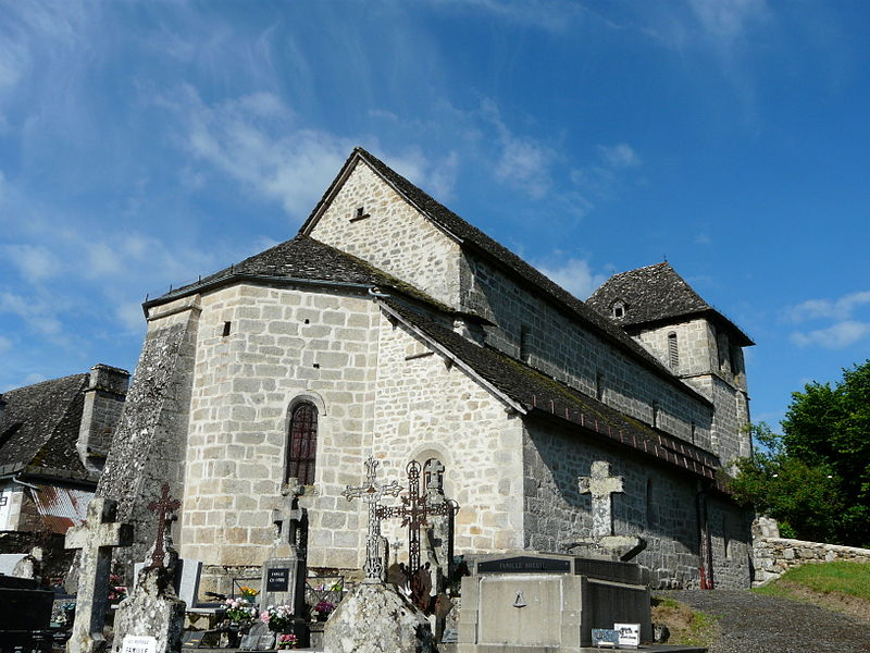 Photo du Monument Historique Eglise Notre-Dame situé à Hautefage