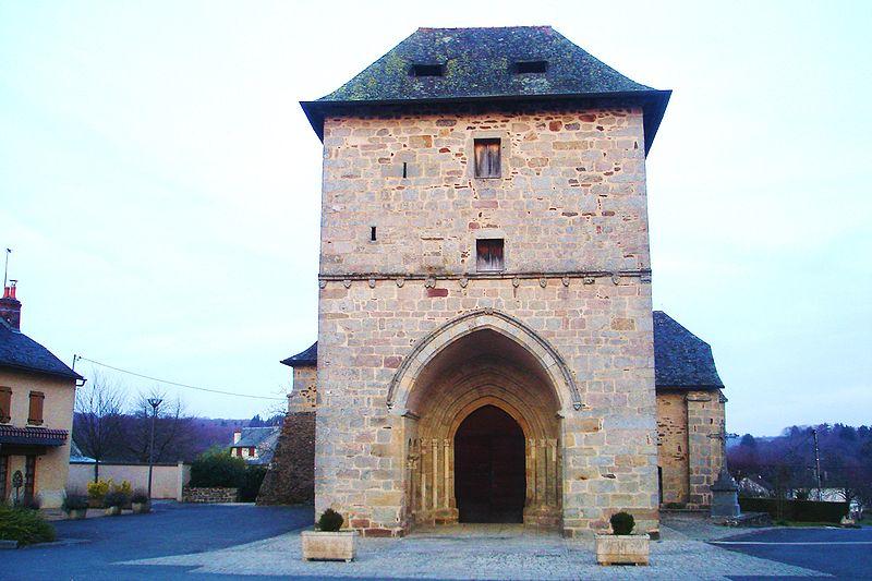Photo du Monument Historique Eglise Saint-Marcel situé à Lagraulière