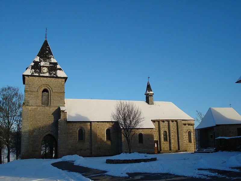 Photo du Monument Historique Eglise Saint-Barthélémy situé à Liginiac