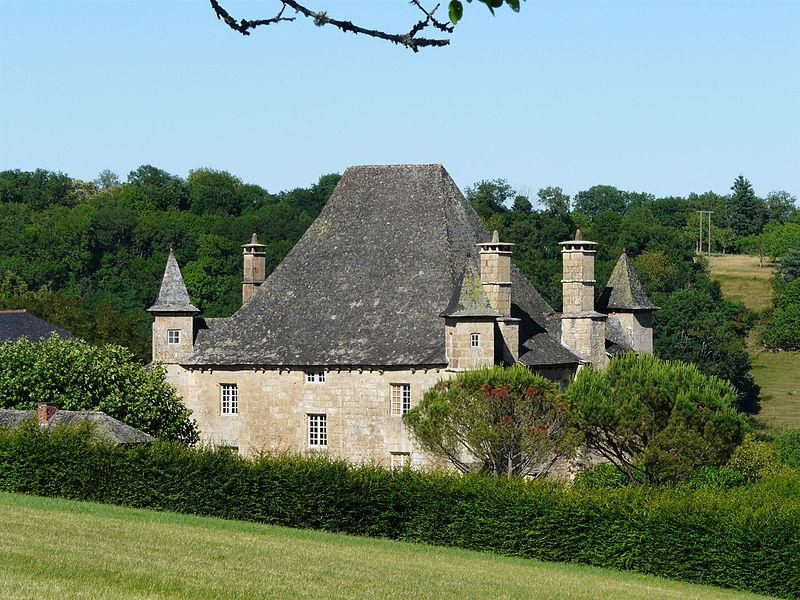 Photo du Monument Historique Château de la Rue situé à Ligneyrac