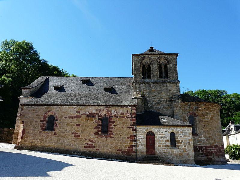 Photo du Monument Historique Eglise Saint-Cyr et Sainte-Julitte situé à Ligneyrac