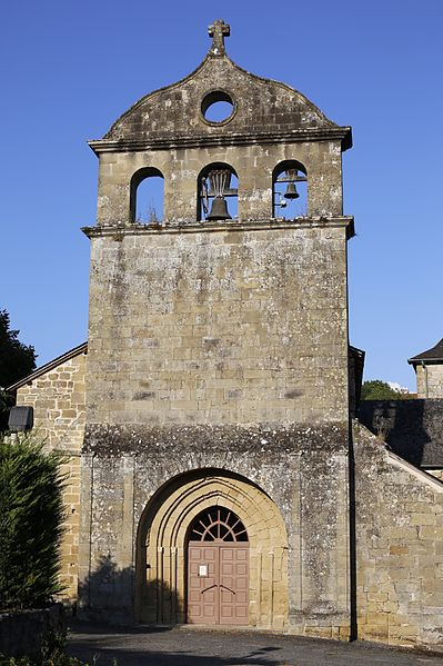 Photo du Monument Historique Eglise Saint-Pierre situé à Lissac-sur-Couze
