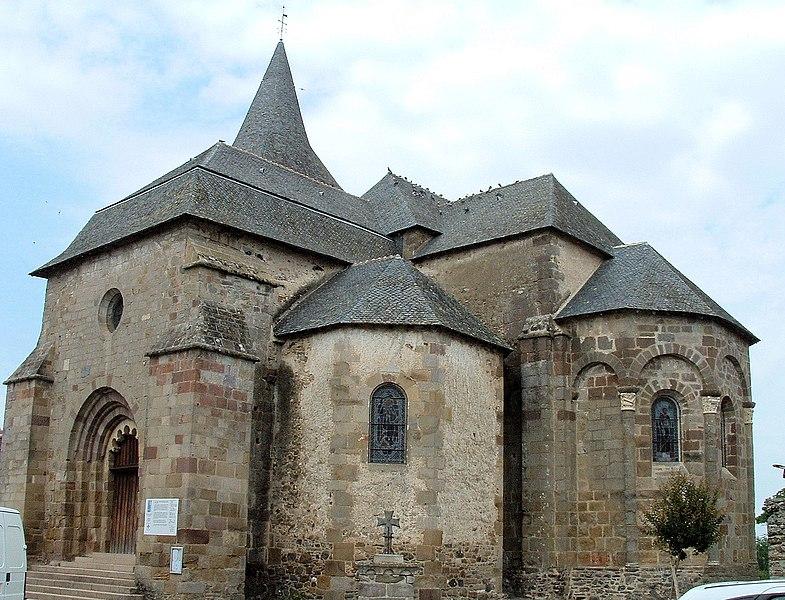 Photo du Monument Historique Eglise Saint-Etienne situé à Lubersac