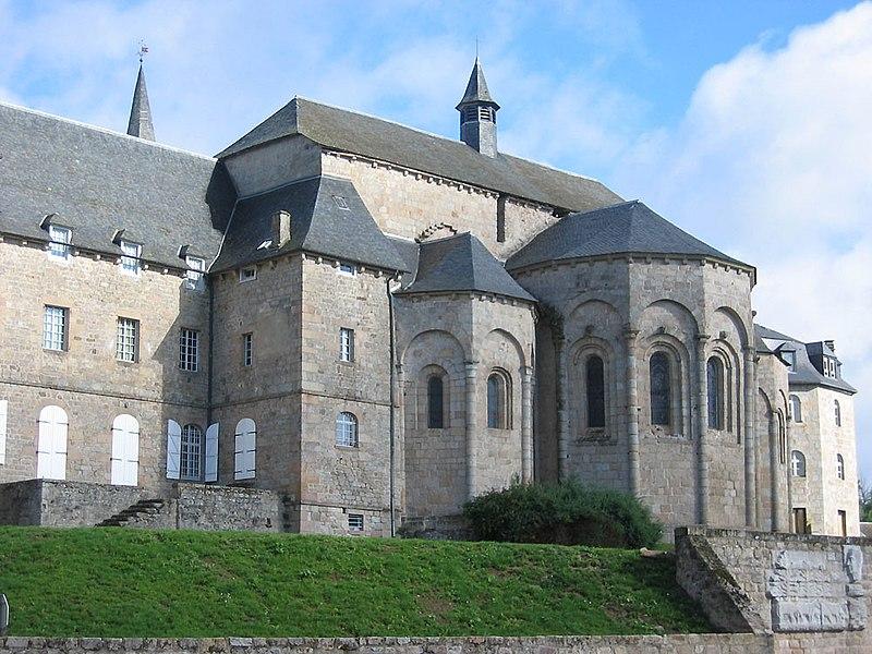 Photo du Monument Historique Ancienne abbaye Saint-André situé à Meymac