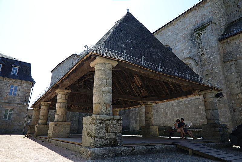 Photo du Monument Historique Halle situé à Meymac