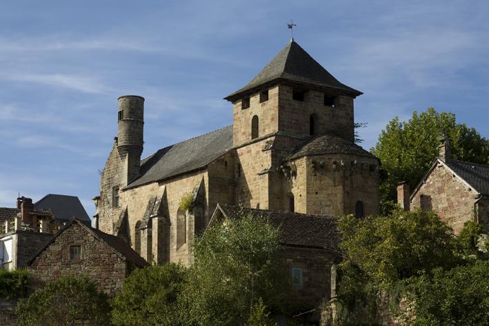 Photo du Monument Historique Eglise Saint-Pierre-ès-Liens situé à Noailhac