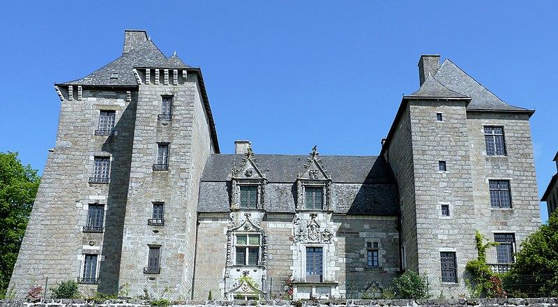 Photo du Monument Historique Manoir situé à Noailles