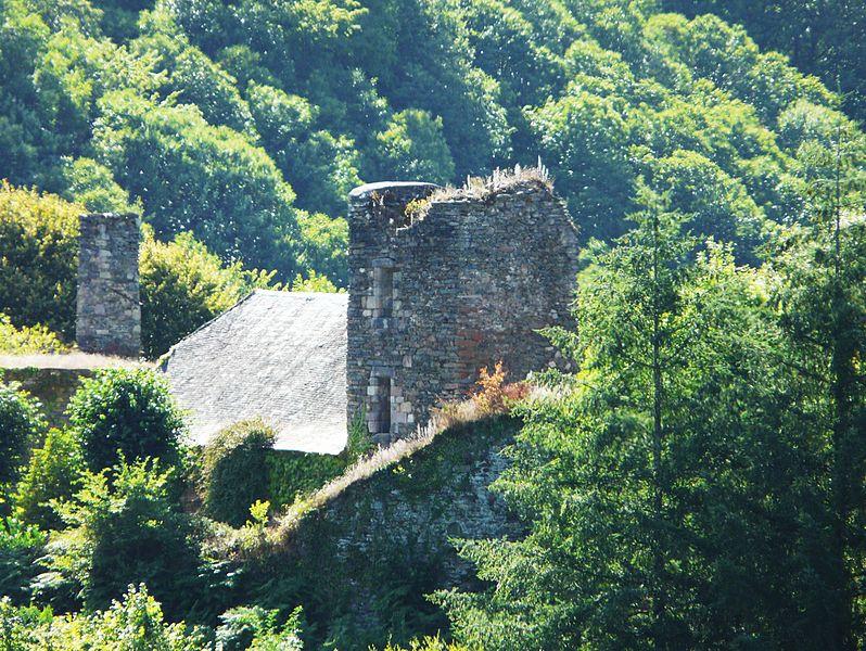 Photo du Monument Historique Château de Comborn situé à Orgnac-sur-Vézère