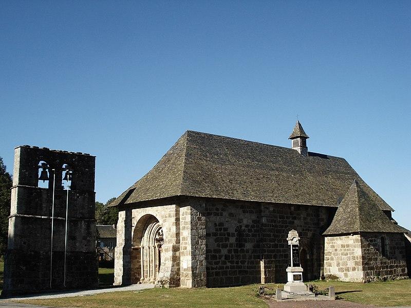 Photo du Monument Historique Eglise Saint-Martial situé à Palisse