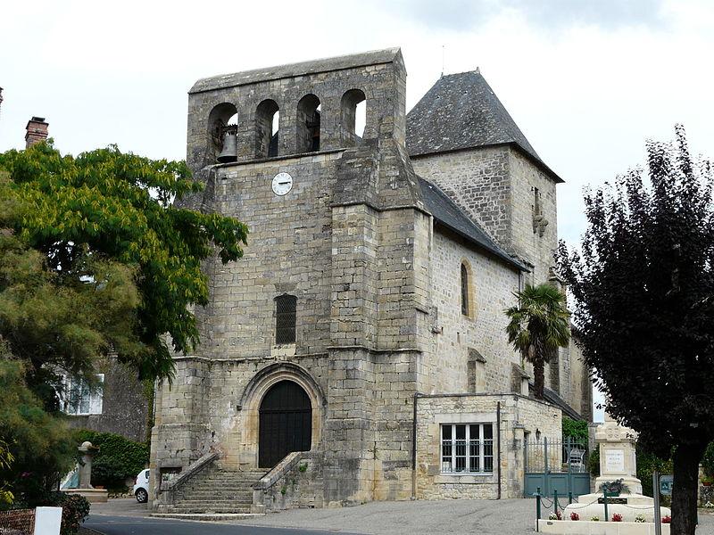 Photo du Monument Historique Eglise de la Transfiguration-de-Notre-Seigneur situé à Perpezac-le-Blanc