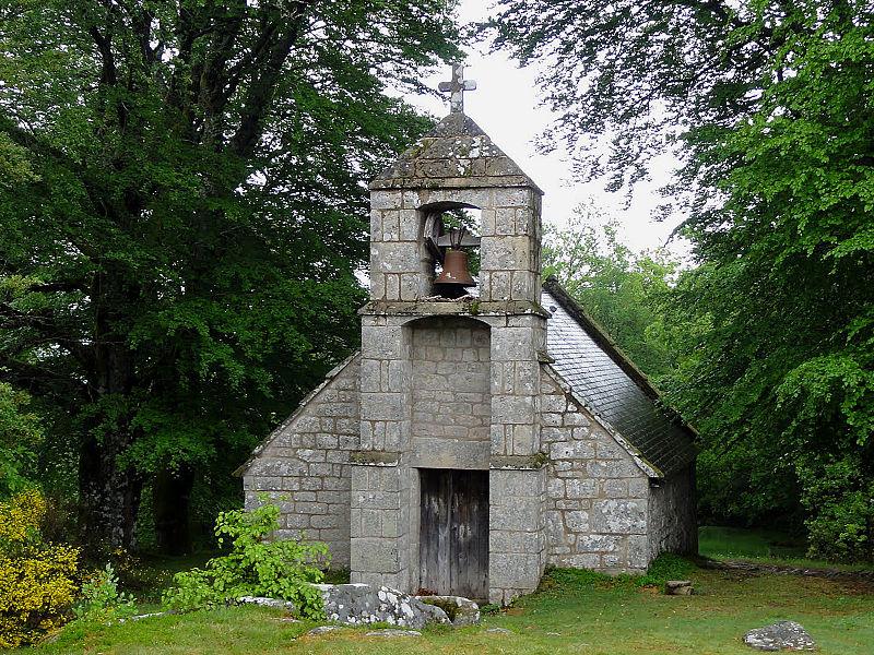 Photo du Monument Historique Chapelle du Rat situé à Peyrelevade