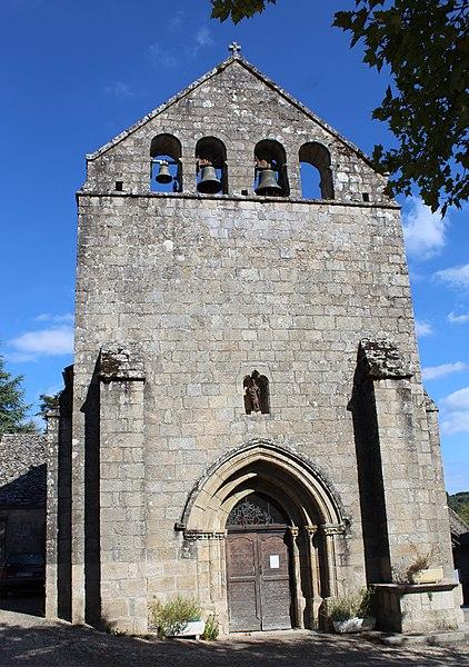 Photo du Monument Historique Eglise Saint-Maur situé à La Roche-Canillac