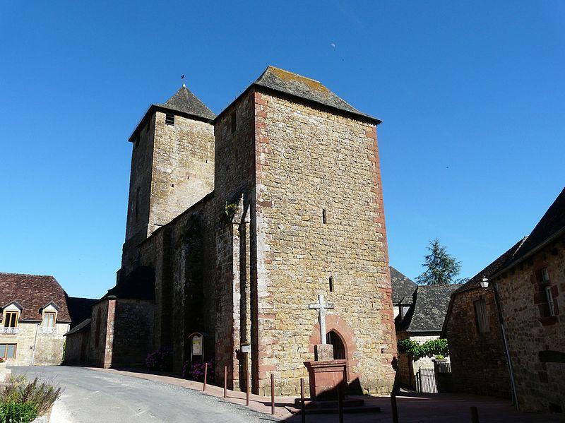Photo du Monument Historique Eglise de la Nativité de Saint-Jean-Baptiste situé à Saillac