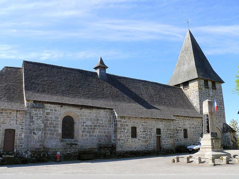 Photo du Monument Historique Eglise Saint-Augustin situé à Saint-Augustin