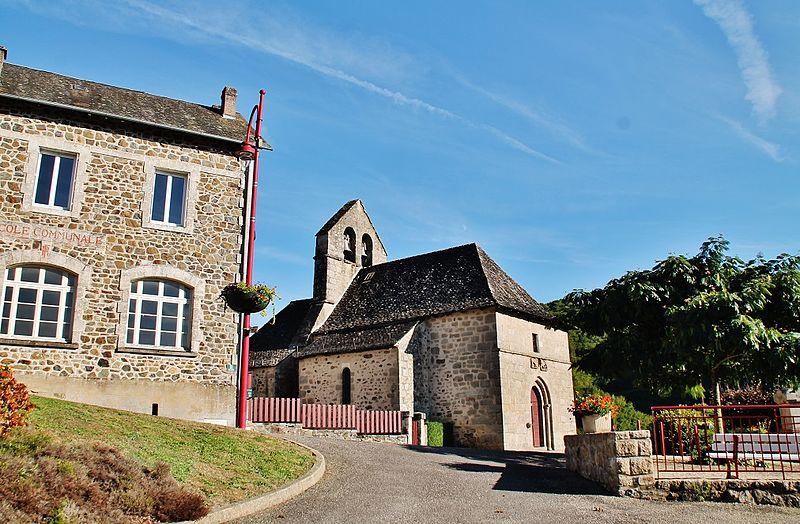 Photo du Monument Historique Eglise Saint-Bonnet-de-Clermont situé à Saint-Bonnet-Avalouze
