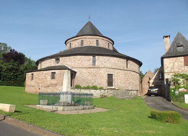 Photo du Monument Historique Eglise Saint-Bonnet situé à Saint-Bonnet-la-Rivière
