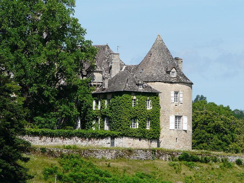 Photo du Monument Historique Château du Rieux situé à Saint-Bonnet-les-Tours-de-Merle