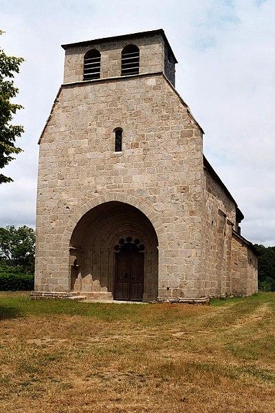 Photo du Monument Historique Eglise Saint-Bonnet-de-clermont situé à Saint-Bonnet-près-Bort